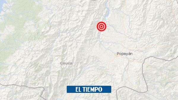 Temblor en Morales Cauca se sintió en Colombia domingo 24 de mayo - Cali - Colombia