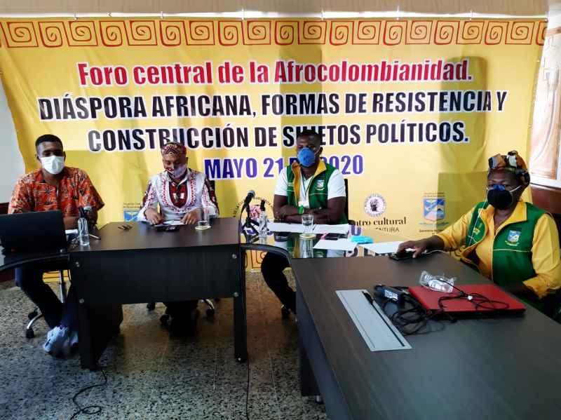 CON FOROS VIRTUALES ADMINISTRACIÓN DISTRITAL CONMEMORÓ EL DÍA DE LA AFROCOLOMBIANIDAD