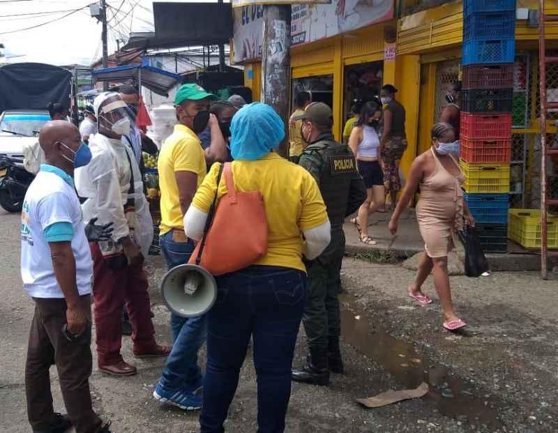 REALIZAN OPERATIVO DE CONTROL Y VIGILANCIA EN LA GALERÍA DE BELLAVISTA