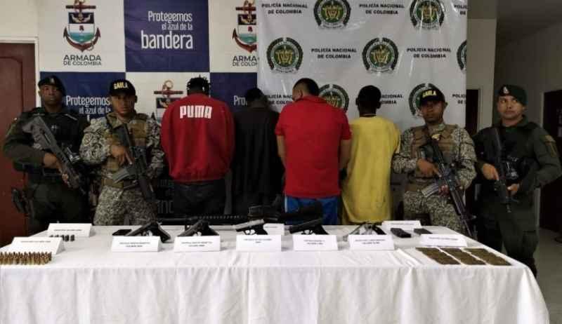 A prisión 5 integrantes de 'La Local', por múltiples delitos cometidos en Buenaventura