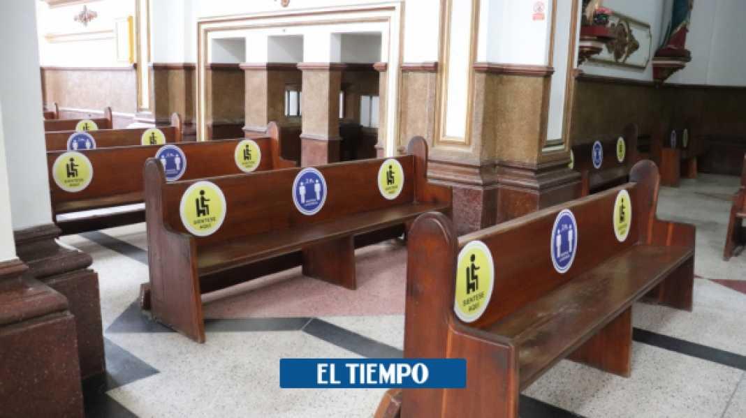 Cómo funcionarán las iglesias en Colombia por el coronavirus - Otras Ciudades - Colombia