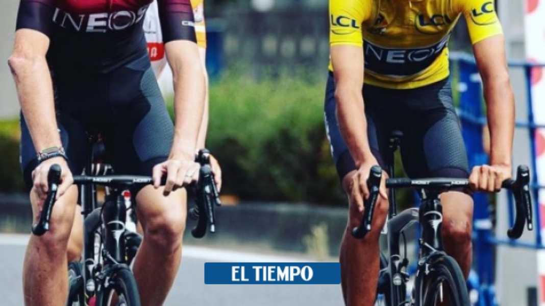 Chris Froome elogió a Egan Bernal, Remco Evenepoel y Tadej Pogacar - Ciclismo - Deportes