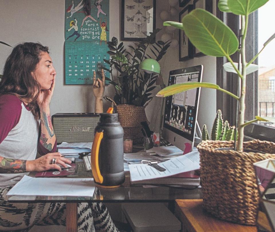 Colombianos: con trabajo en casa, pero no teletrabajando | Empleo | Economía