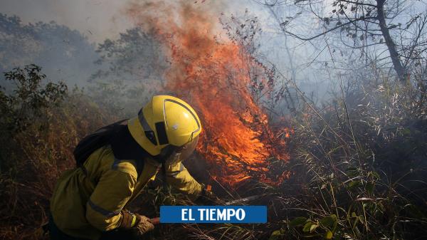Contagio de covid-19 en estación de bomberos de Cali - Cali - Colombia