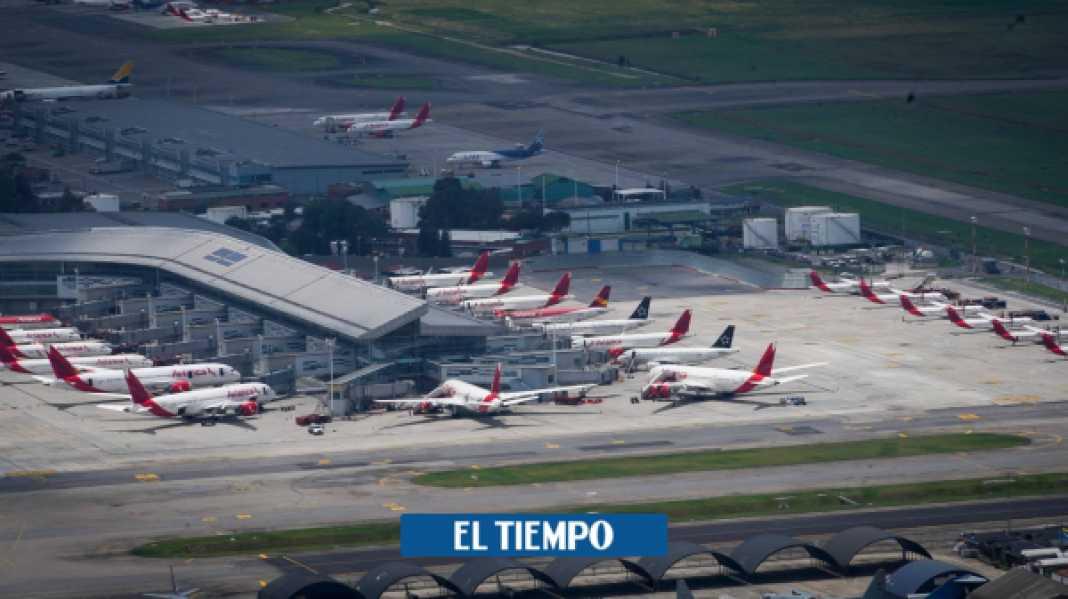 Coronavirus Colombia: Protocolos para la reapertura aeropuertos puedan reabrir - Gobierno - Política