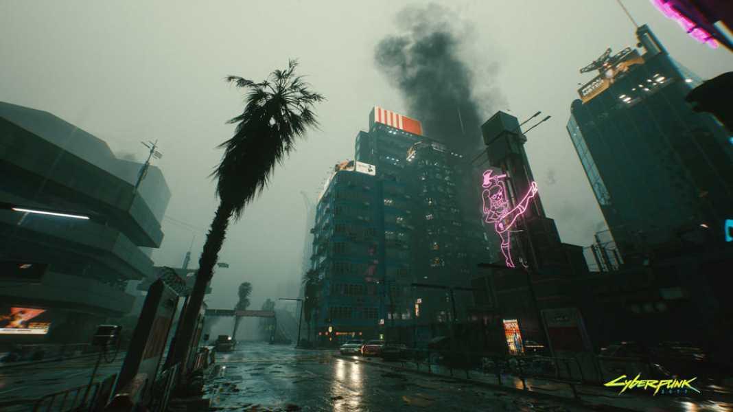 'Cyberpunk 2077' se muestra intratable grficamente con la tecnologa de trazado de rayos