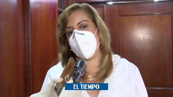Dos hijos de la gobernadora Clara Luz Roldán dieron positivo para coronavirus - Cali - Colombia