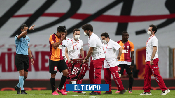 Falcao García tiene lesión muscular según parte médico del Galatasaray - Fútbol Internacional - Deportes