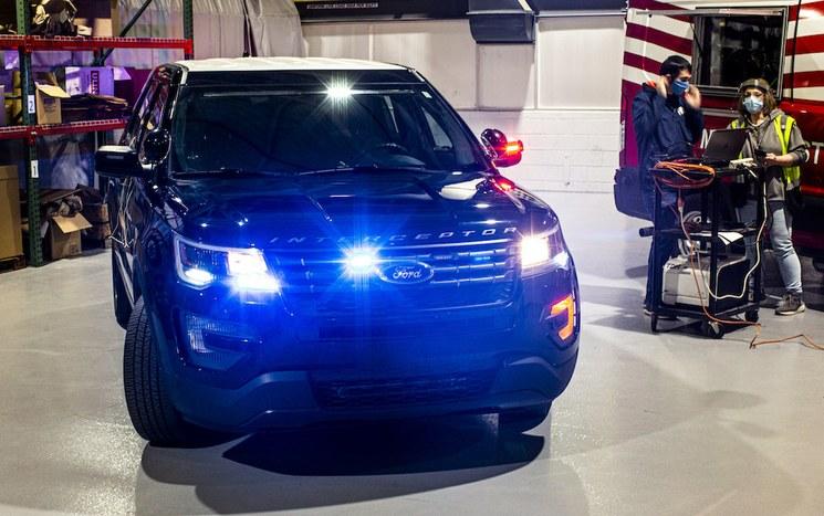 Ford mejora tecnología que podría neutralizar el COVID-19 en las patrullas - Tiempo de Carrera