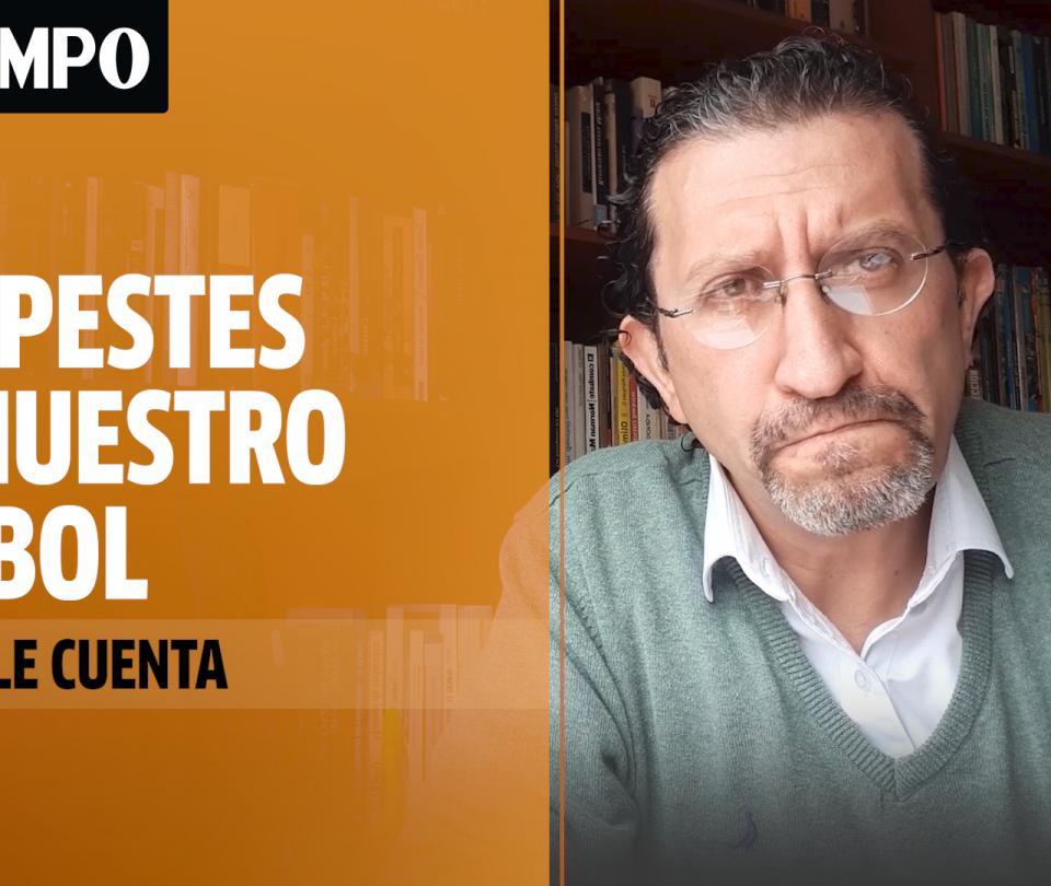 Gabriel Meluk opina sobre las pestes del fútbol colombiano en época de covid-19 - Fútbol Colombiano - Deportes