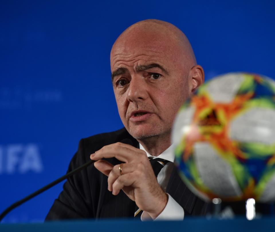 Gianni Infantino presidente de la FIfa habla sobre el futuro del fútbol por la pandemia - Fútbol Internacional - Deportes