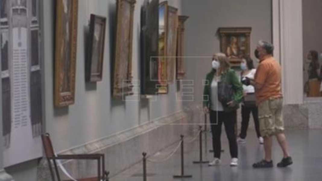 Más cuadros que visitantes en la reapertura del Prado, Reina Sofía y Thyssen   Cultura y entretenimiento   Edición América