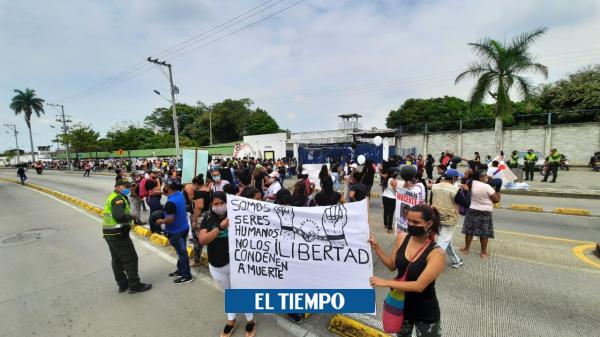 Puja de miedo en cárcel de Cali tratando de huir del coronavirus - Cali - Colombia