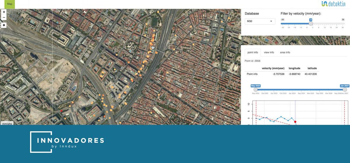Tecnología satelital e IA 'made in Spain' para prevenir derrumbes de infraestructuras