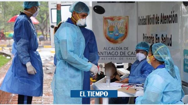 Valle del Cauca sumó 254 casos nuevos de covid-19 y 9 fallecimientos - Cali - Colombia