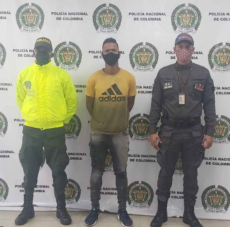 LA POLICÍA NACIONAL Y EL C.T.I CAPTURARON UN SUJETO POR EL PRESUNTO DELITO DE ACCESO CARNAL VIOLENTO