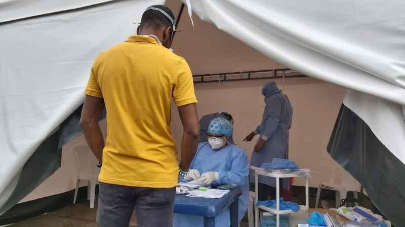 Alcaldía Distrital realiza cercos epidemiológicos para detectar pacientes sospechosos de Covid-19 en Buenaventura