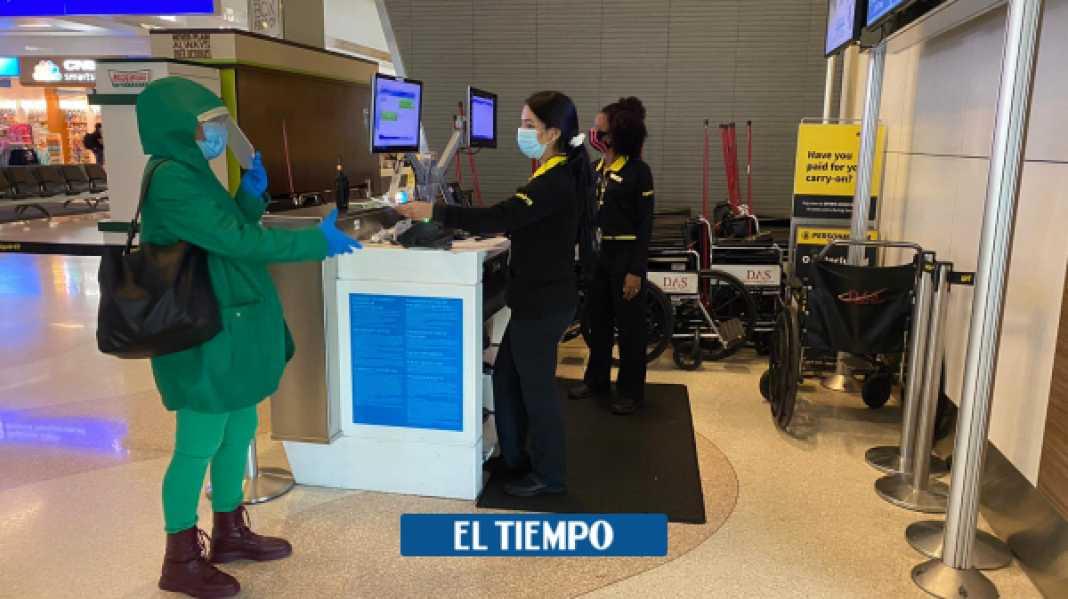 coronavirus: unos 13.000 colombianos están varados en el exterior - Gobierno - Política
