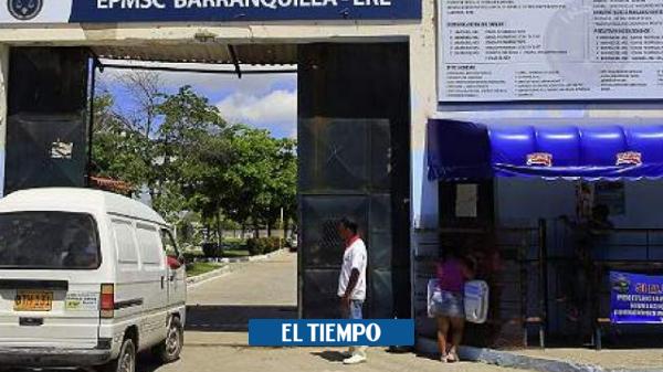 covid-19 en Barranquilla muere otro recluso de la penitenciaría El Bosque - Barranquilla - Colombia