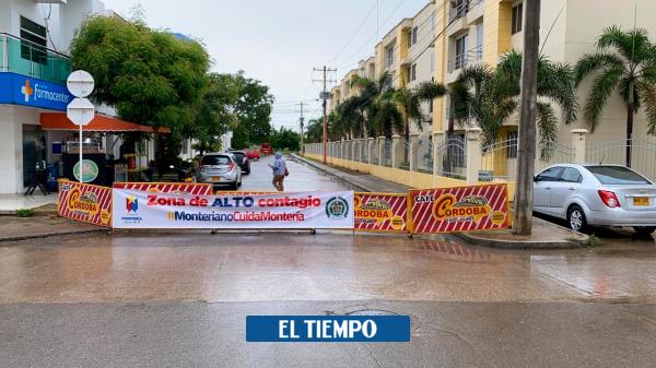 Barrios cerrados en Montería por covid-19 - Otras Ciudades - Colombia