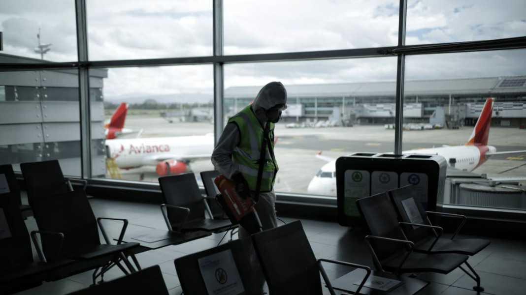 Coronavirus Colombia: Protocolos de bioseguridad para los vuelos nacionales