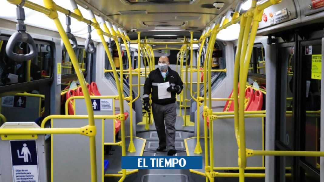 Coronavirus en Bogotá: cómo evitar contagios en el transporte público - Bogotá