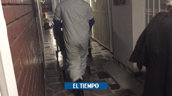 Coronavirus: familia que estuvo 25 horas con un cadáver en una casa de Bogotá - Salud