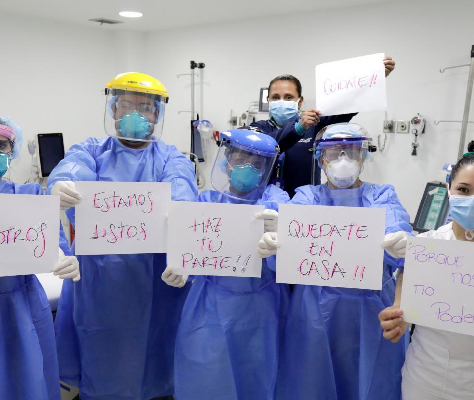 Coronavirus: médicos den Colombia dicen estar listos para enfrentar la pandemia - Salud