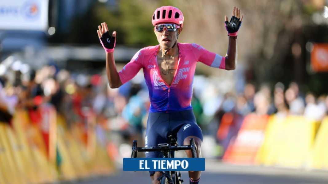 Daniel Martínez habla en entrevista del Tour de Francia y del Mundial - Ciclismo - Deportes