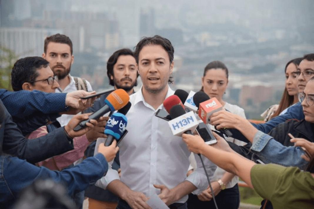 Daniel Quintero es el alcalde con más favorabilidad en Colombia en medio de la pandemia