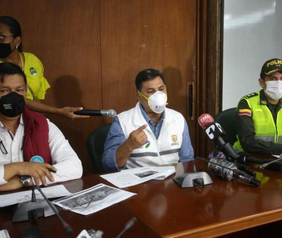 En 3 meses y medio se pasó de 104 pacientes positivos a 14.669 - Cali - Colombia