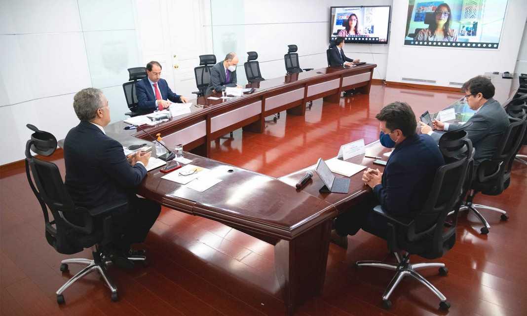 Acopi, empresas, Colombia, mipymes, Iván Duque, Presidente Duque, MinComercio, José Manuel Restrepo, Víctor Muñoz