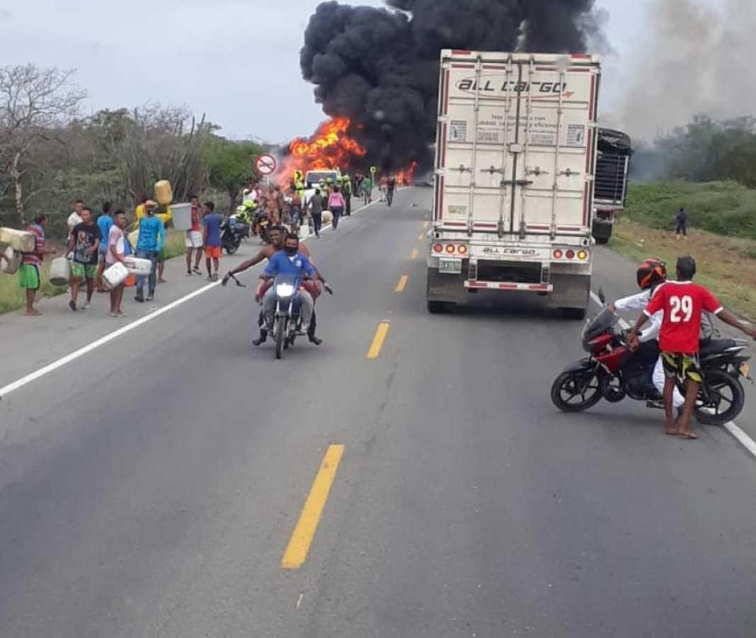 Explosión de camión cisterna en Tasajera deja saldo de 21 fallecidos | Economía