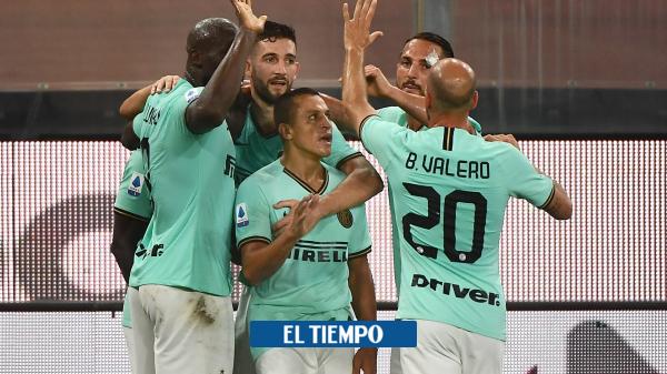 Génova 0-3 Inter: resumen, goles y estadísticas fecha 36 Serie A - Fútbol Internacional - Deportes