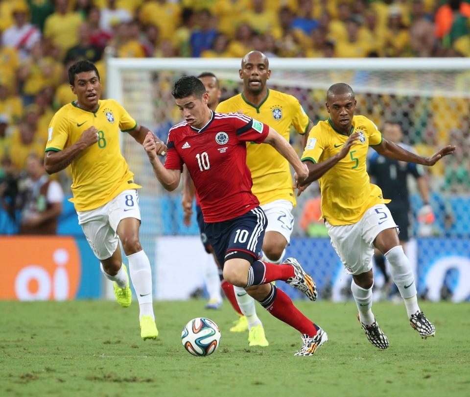 Historia de los mundiales: Eliminación de Colombia en el Mundial Brasil 2014 - Fútbol Internacional - Deportes