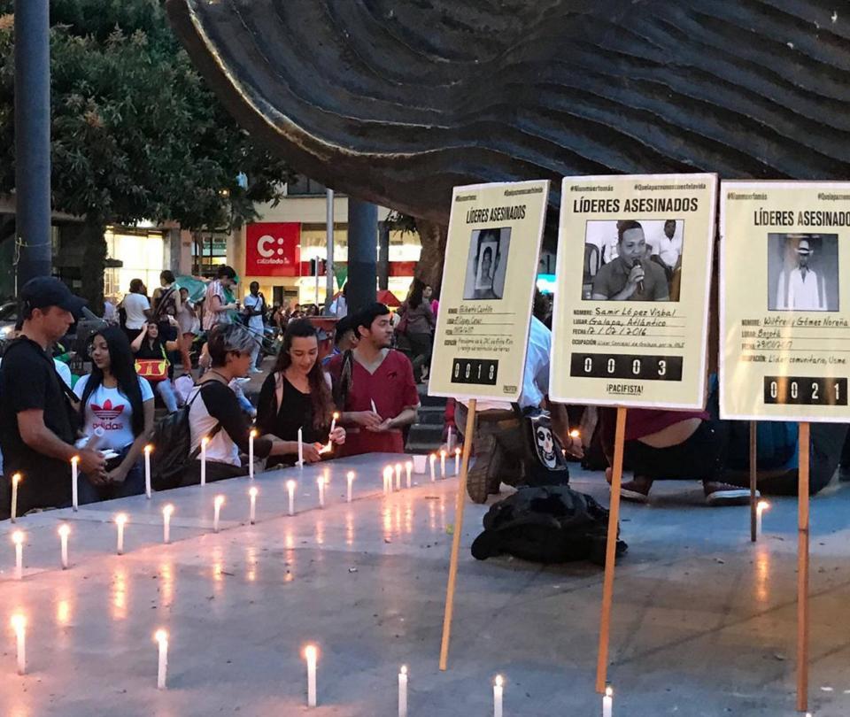 Líderes sociales asesinados en Colombia durante el 2020 - Proceso de Paz - Política