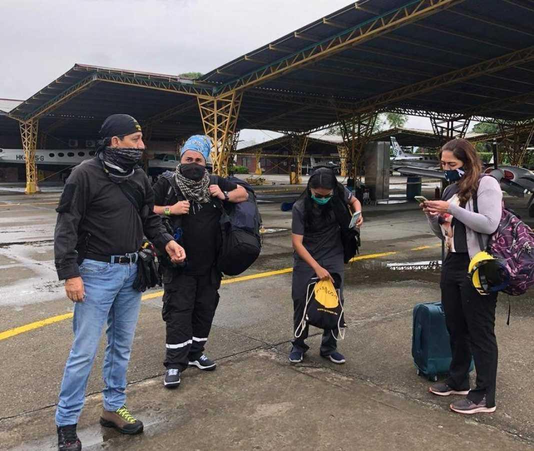 Médicos de Cali llegaron a Tumaco para fortalecer barrera contra covid - Cali - Colombia