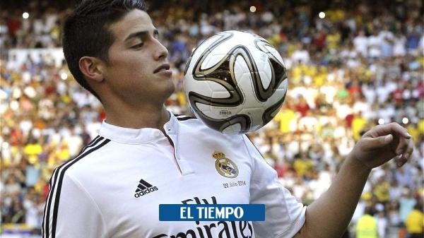 Seis años de la llegada de James Rodríguez al Real Madrid en 2014 - Fútbol Internacional - Deportes