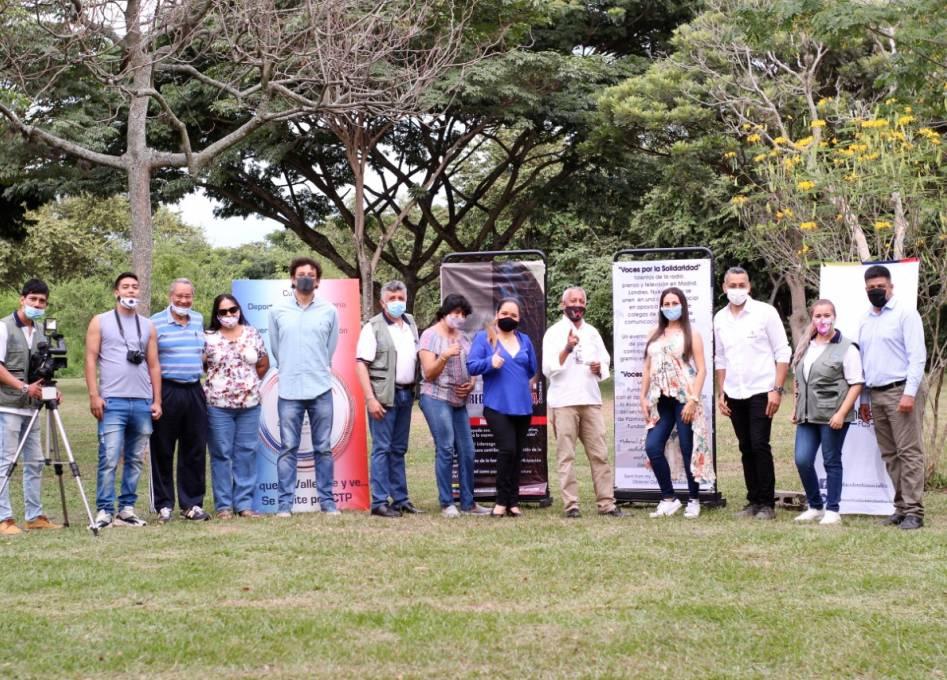 'Voces de Solidaridad', una iniciativa que busca apoyar a periodistas de Palmira para salir de la crisis económica del covid-19