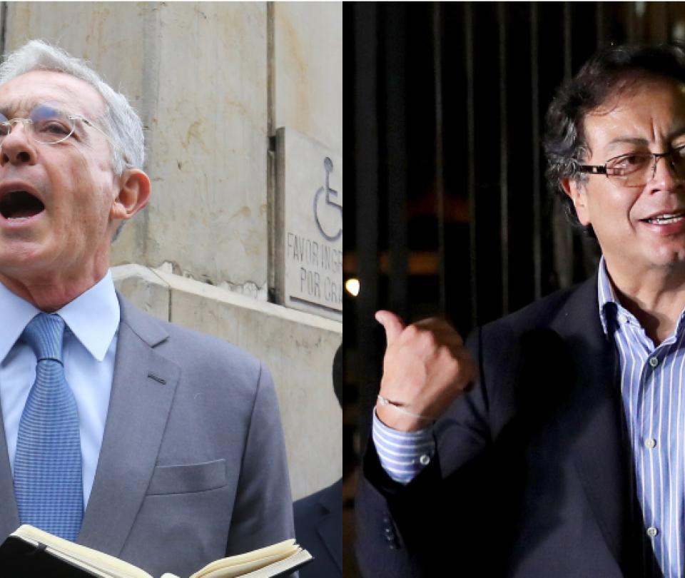 Álvaro Uribe y Gustavo Petro: sus coincidencias y cercanías - Partidos Políticos - Política