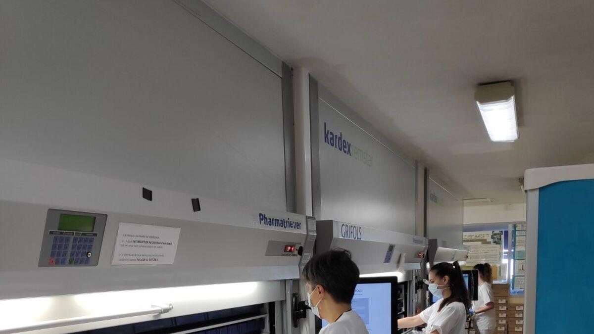 Última tecnología para la farmacia del Hospital Universitario Torrecárdenas