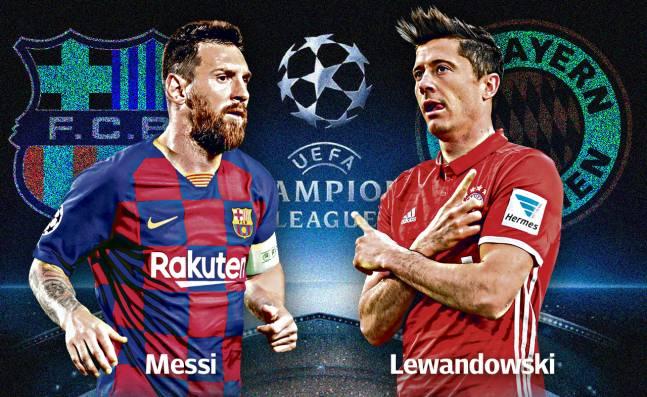 Barcelona vs Bayern, Messi vs Lewandowski, choque de trenes en Liga de Campeones