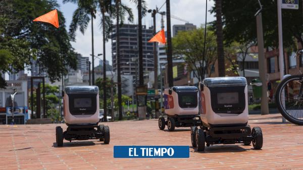 Cómo funciona la entrega de domicilios con robots - Novedades Tecnología - Tecnología
