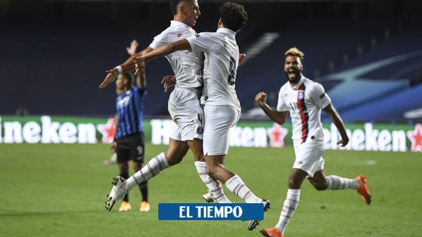 Champions League: PSG remonta y vence al Atalanta 2-1 - Fútbol Internacional - Deportes