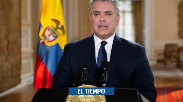 Duque dice que el futuro de Mancuso debe ser una cárcel en Colombia - Gobierno - Política
