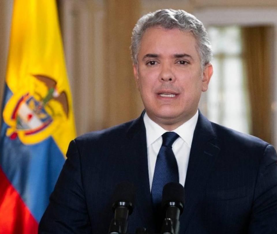 Duque habló se Bolívar e hizo mención de Uribe - Gobierno - Política