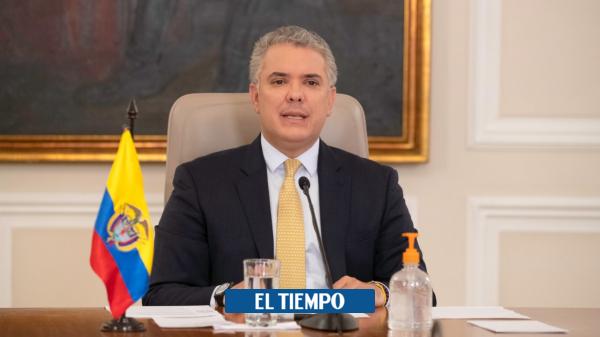 El presidente Duque ordenó fijar en su cuenta de Twitter su defensa de Álvaro Uribe - Gobierno - Política