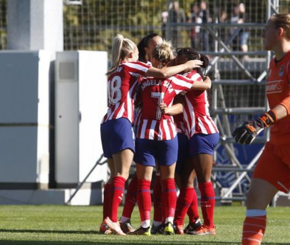 Fútbol femenino: Atlético de Madrid y FC Barcelona a cuartos de final Champions femenina | Futbol Colombiano | Fútbol Femenino