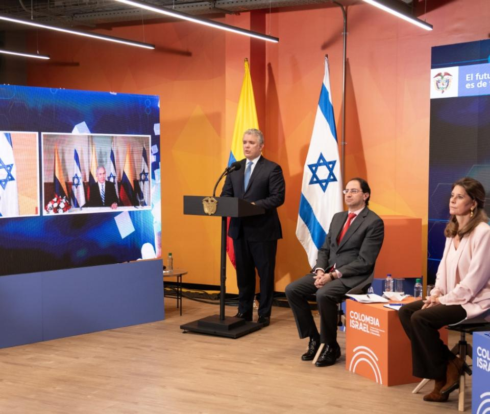 Iván Duque fortalece el TLC de Colombia con Israel - Gobierno - Política