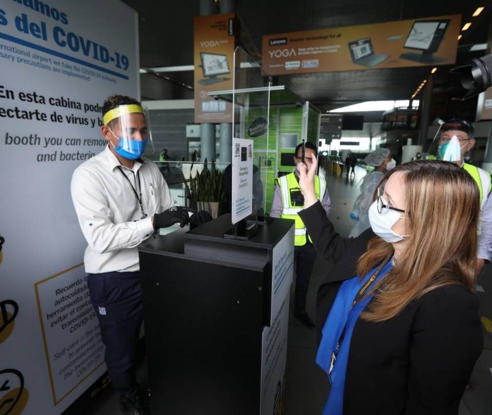 Los 15 aeropuertos del país que ya cumplen protocolos de bioseguridad para reabrir vuelos - Sectores - Economía